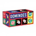 Outer Space Dominoes โดมิโน ขนาดใหญ่ 28 ชิ้น