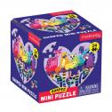 LOVE IN THE WILD MINI PUZZLE Mini puzzle มาในกล่องเล็กกะทัดรัด 1 กล่องต่อได้ 1 ภาพ จิ๊กซอว์จำนวน24 ชิ้น